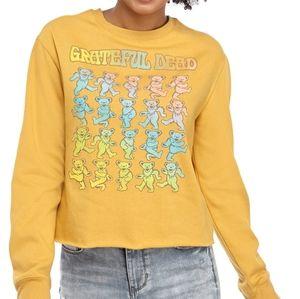 Grateful Dead long sleeve relaxed sweatshirt NWT